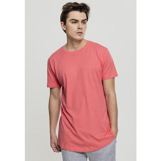 URBAN CLASSICS T-Shirt Shaped Long koralle