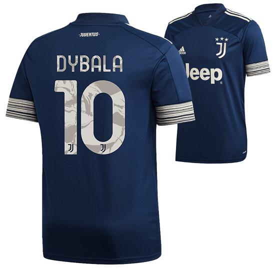 Adidas Juventus Turin Trikot DYBALA 2020/2021 Auswärts