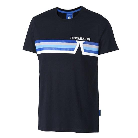 FC Schalke 04 T-Shirt Förderturm Blau