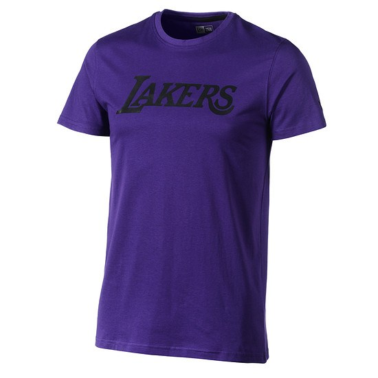 New Era Los Angeles Lakers T-Shirt Pop Logo lila