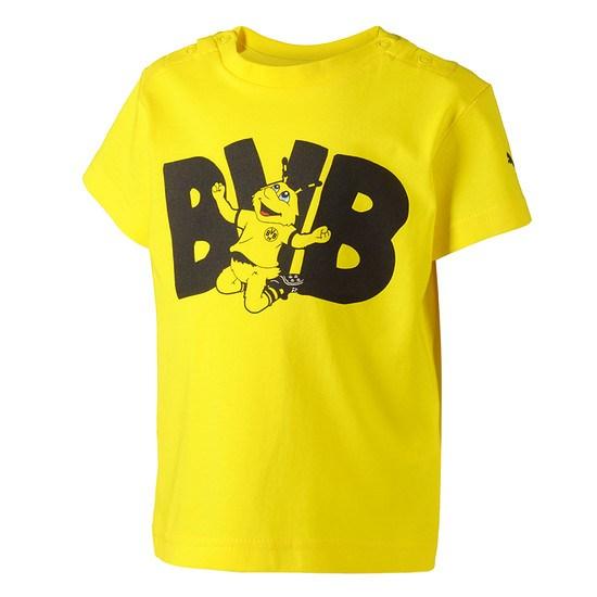 Puma Borussia Dortmund T-Shirt Minicats Baby gelb