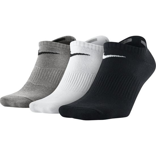Nike Socken Sneaker 3er Pack SW/Weiß/Grau