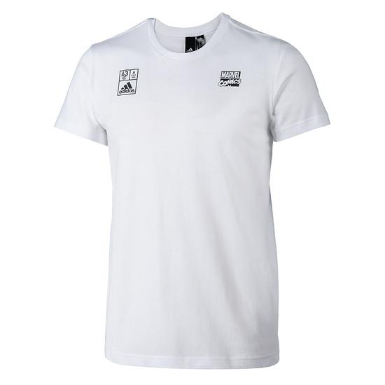 Adidas T-Shirt Ironman Kinder weiß