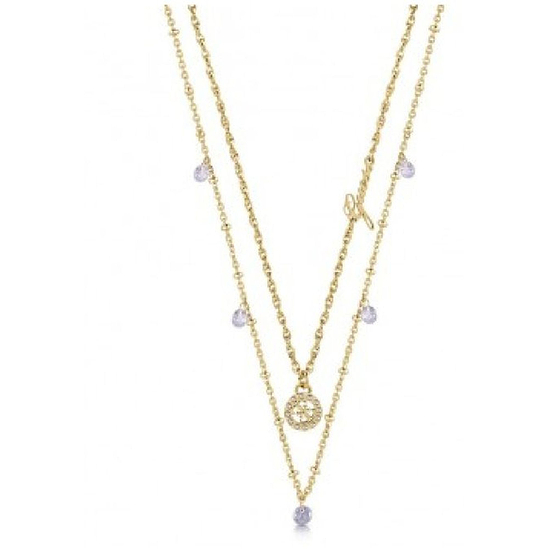 Guess Collier Damen GALACTIC GIRL Gold