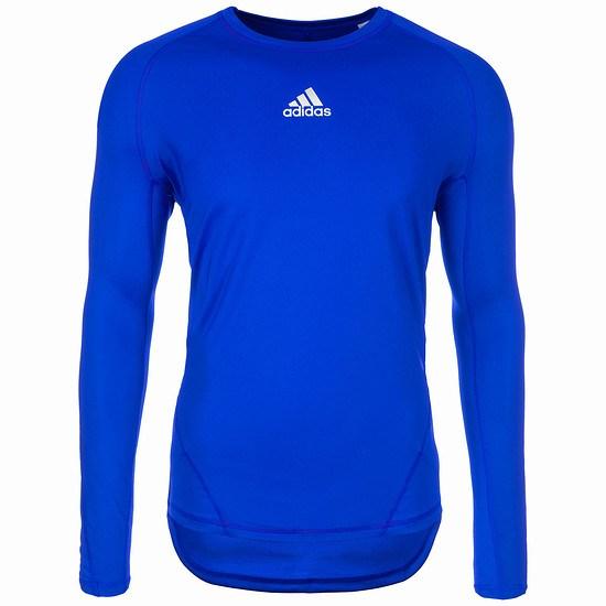 Adidas Trainingsshirt AlphaSkin Sport blau