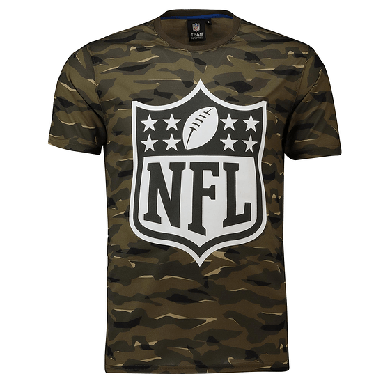 Fanatics NFL Shield T-Shirt Digi Camo khaki