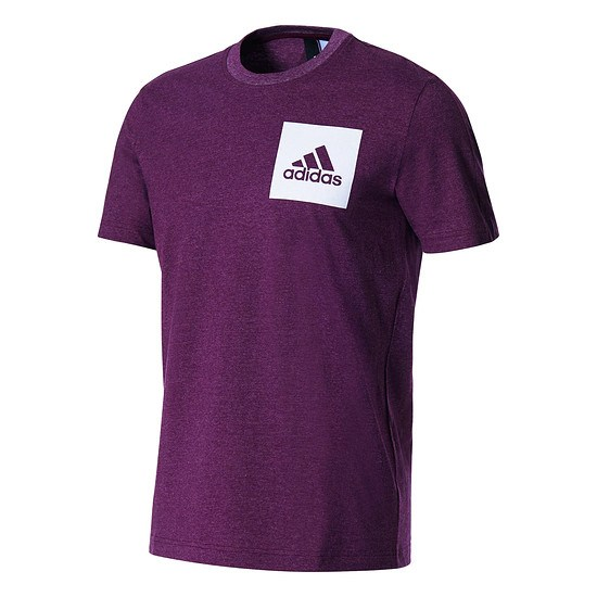 Adidas T-Shirt ESS Chest Logo Bordeaux