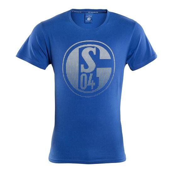FC Schalke 04 T-Shirt Signet Königsblau