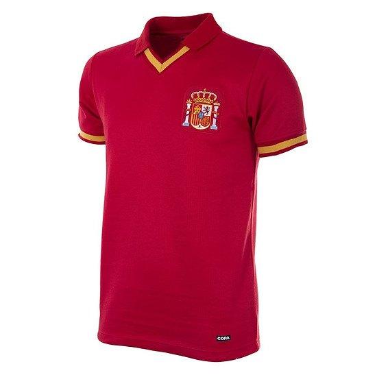Copa Spanien 1988 Short Sleeve Retro Shirt