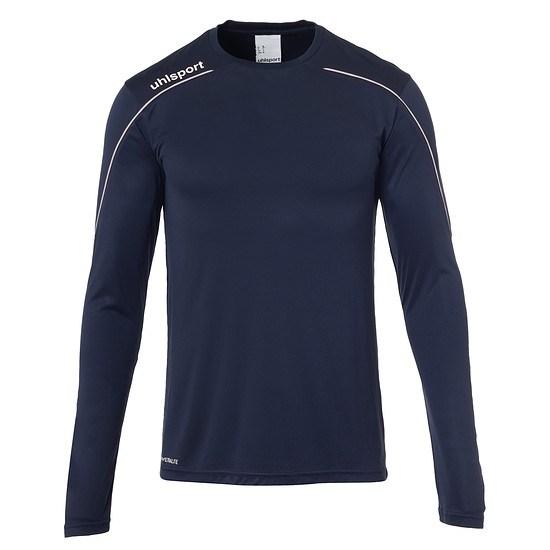 uhlsport Trainingsshirt Langarm Stream 22 marine/weiß