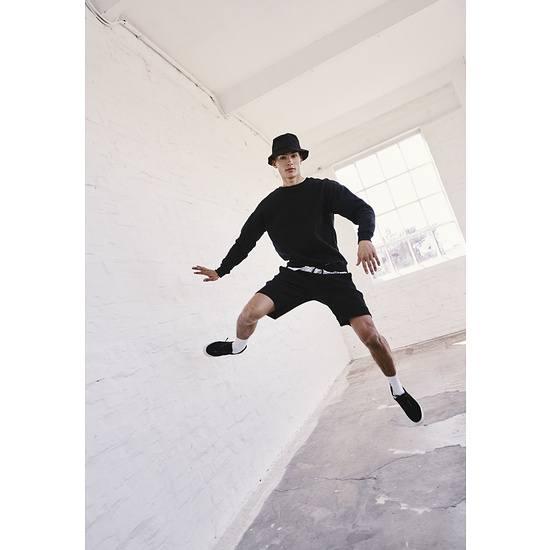 URBAN CLASSICS Shorts Heavy Pique schwarz