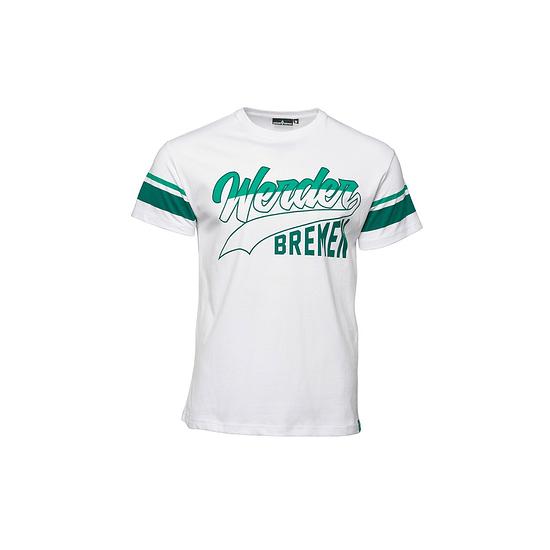 SV Werder Bremen T-Shirt WERDER BREMEN Weiß