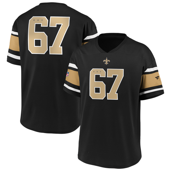 Fanatics New Orleans Saints Jersey Iconic Supporter Poly Mesh schwarz