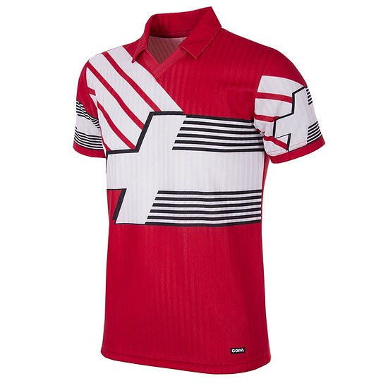 Copa Schweiz 1990/92 Short Sleeve Retro Shirt