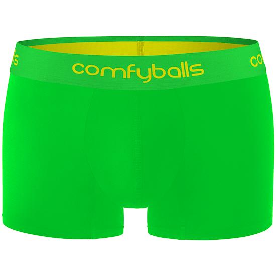 comfyballs Boxershorts Viper Green Performance Superlight neongrün