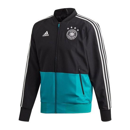 Adidas DFB Pre Match Jacke schwarz/grün