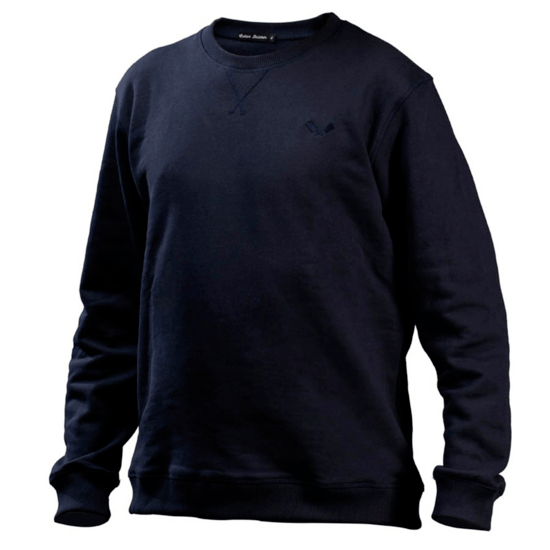Cotton Butcher Sweatshirt Alabama Rundhals blau