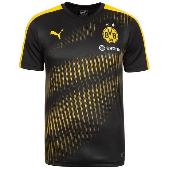 Puma Borussia Dortmund Stadium Shirt Schwarz