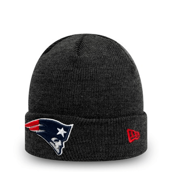 New Era New England Patriots Beanie Heather Established grau
