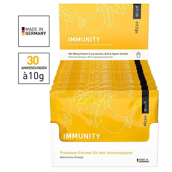 Vit2go IMMUNITY 30 Beutel gelb