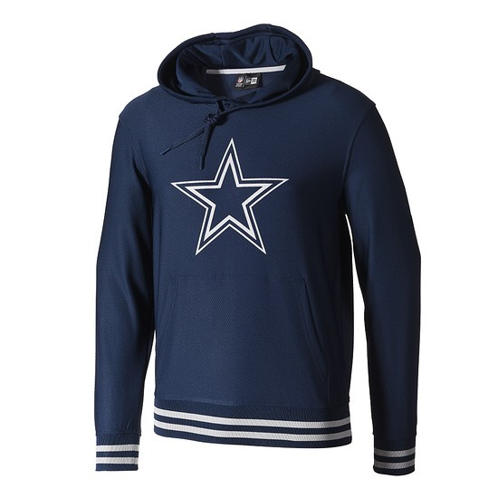 New Era Dallas Cowboys Hoodie Dryera blau
