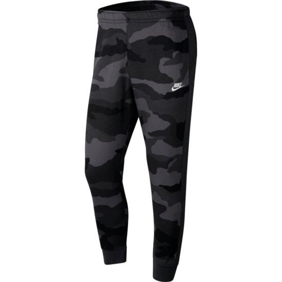 Nike Jogginghose Club Fleece Camo Anthrazit