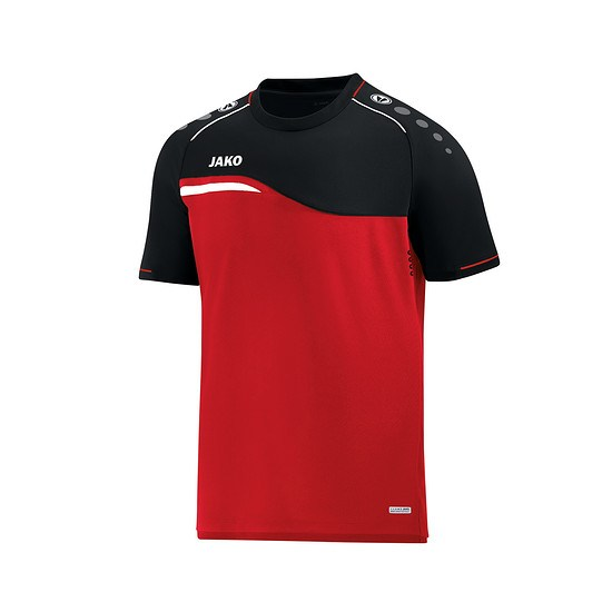 Jako T-Shirt Competition 2.0 rot/schwarz