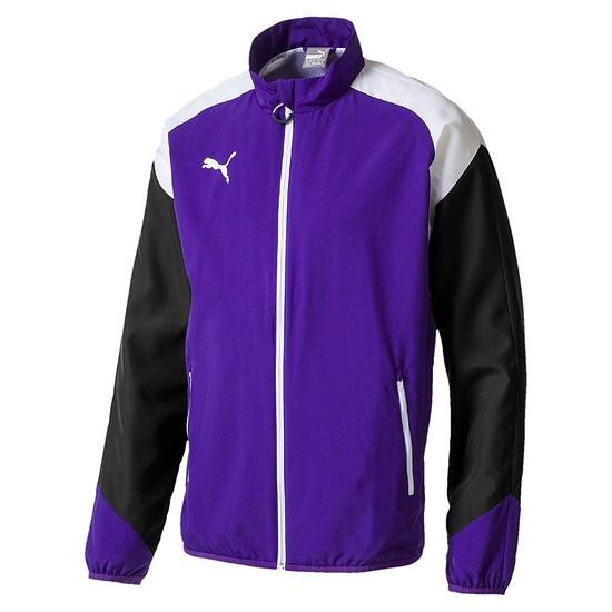 Puma Freizeitjacke Team Violet/Weiß