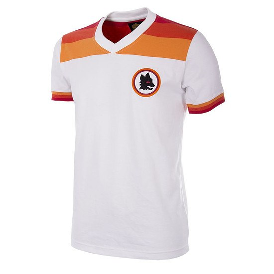 Copa AS Rom 1978/79 Short Sleeve Retro Shirt Away