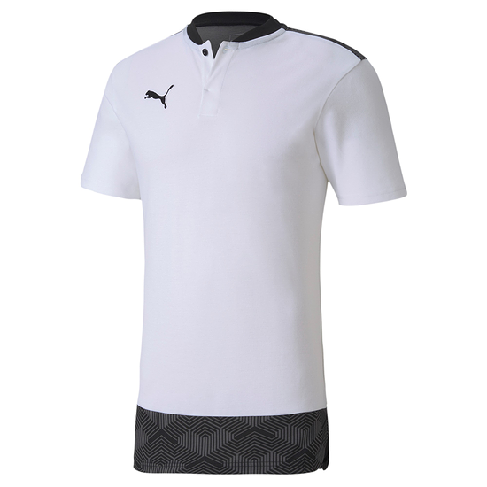 Puma Shirt Casual Knopfleiste Team FINAL 21 Weiß