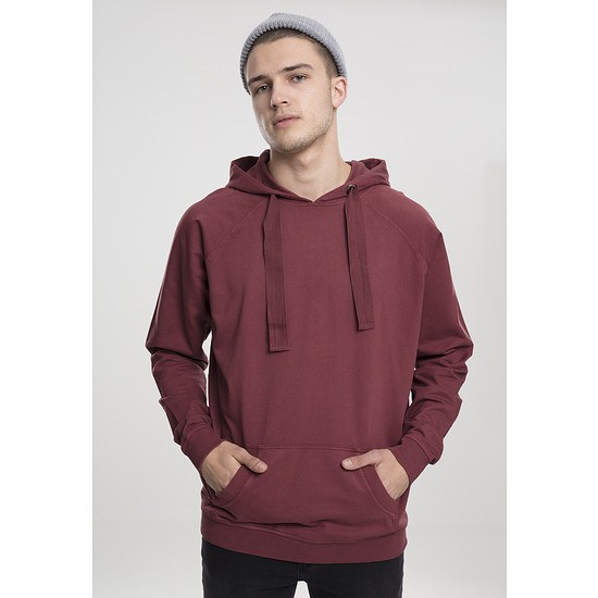 URBAN CLASSICS Hoodie Garment Washed Terry rost