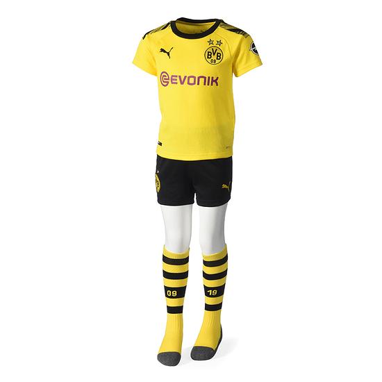 Puma Borussia Dortmund Trikot 2019/2020 Heim Mini Kit