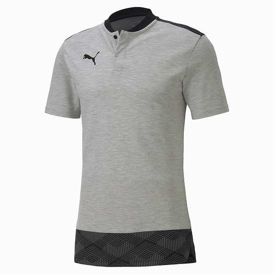 Puma Shirt Casual Knopfleiste Team FINAL 21 Grau