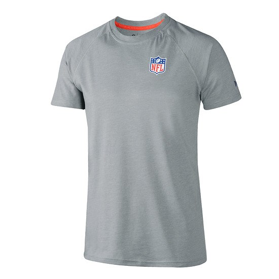 New Era NFL Shield T-Shirt Pack grau