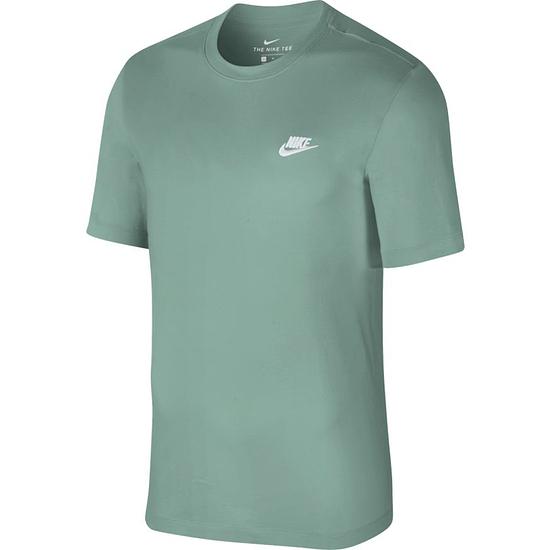 Nike T-Shirt Klassik Türkis/Weiß