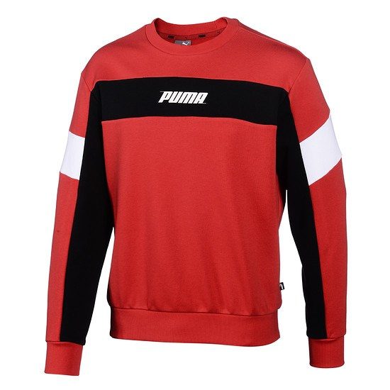 Puma Sweatshirt Rebel TR Rot