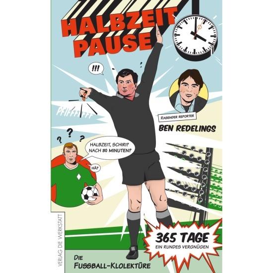 Buch Halbzeitpause- Die Fußball-Klolektüre