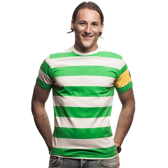 Copa T-Shirt Celtic Captain grün/weiß