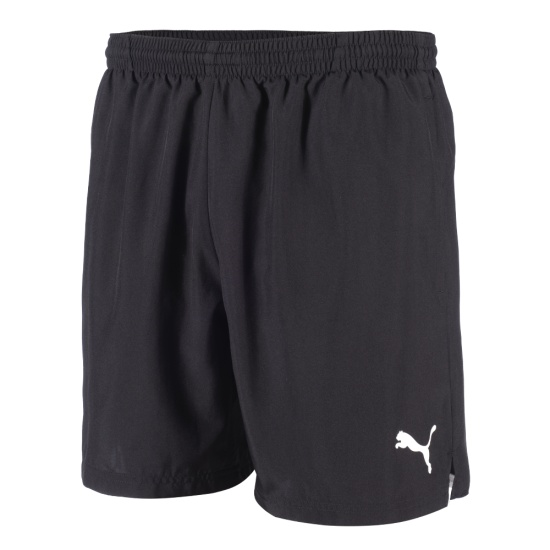 Puma Freizeit Shorts schwarz/weiß