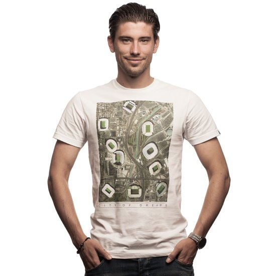 Copa T-Shirt City of Dreams weiß