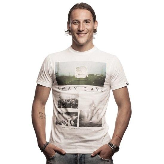 Copa T-Shirt Away Days weiß