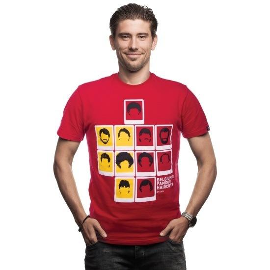 Copa T-Shirt Belgien Famous Haircuts