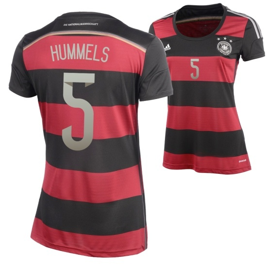 Adidas Deutschland Auswärts Trikot 2014/2015 HUMMELS Damen