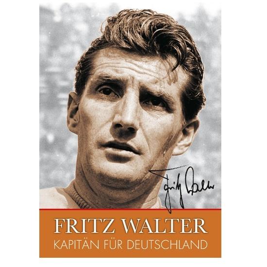 1. FC Kaiserslautern Fritz Walter - Kapitän für Deutschland