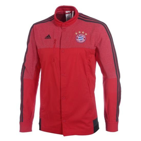 Adidas FC Bayern München Jacke Anthem rot