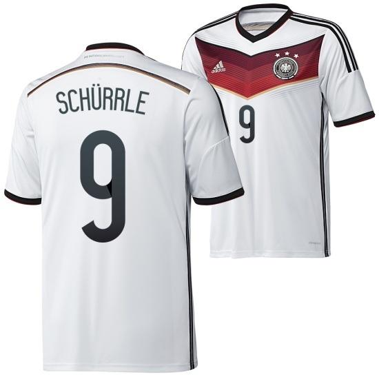 Adidas Deutschland Heim Trikot Kinder 2014/2015 SCHÜRRLE