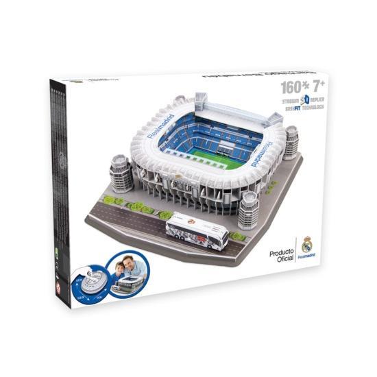 nanostad 3D Stadion Puzzle Santiago Bernabeu Madrid