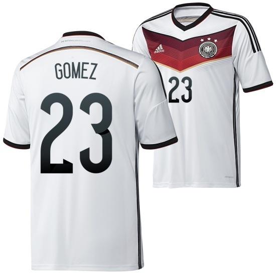Adidas Deutschland Heim Trikot 2014/2015 GOMEZ Kinder