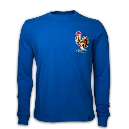 Copa Frankreich 1970's Long Sleeve Retro Shirt