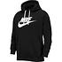 Nike Hoodie Sportswear Club Fleece Schwarz